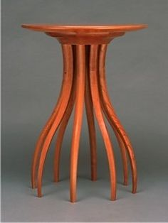 """Cherry Side Table"" Wood Side Table by Blaise Gaston on Artful Home"