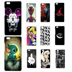 Case For Huawei Ascend P8 Lite Colorful Printing Drawing Plastic Hard Phone Cover for Huawei P8Lite/P8Mini Phone Cases