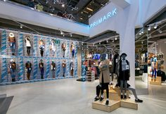 "PRIMARK,Gran Via, Madrid, Spain, ""The Business of Affordable Fashion"", pinned by Ton van der Veer"