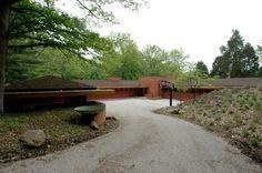 William P. Boswell House. Usonian. Indian Hills, Cincinnati, Ohio. 1961
