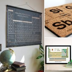 10 Periodic Table Art Pieces For Your Geeky Home