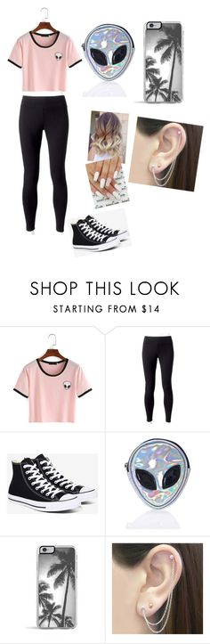 """""""Alien outfit"""" by makaylag147 ❤ liked on Polyvore featuring beauty, Jockey, Converse, Disturbia, Zero Gravity and Otis Jaxon"""