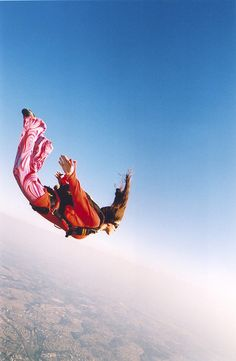 skydiving.