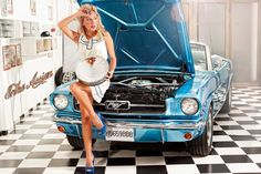 1965 Mustang Babe