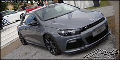 I agree the concept R car looks great i'm just not keen on black wheels, most of the intricate detail design work gets lost Scirocco Tuning, Vw Scirocco, Car Volkswagen, Vw Cars, Car Mods, Black Wheels, Exotic Cars, Dream Cars, Automobile