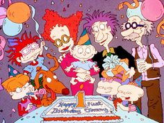 Back when cartoon animation wasn't up to par and it was so much better that way!!!!! Oldest rugrats!!!!!