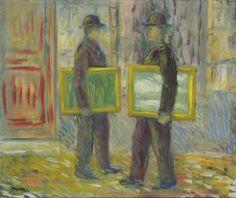 René Magritte -  La Cinquième Saison (huile sur toile, 1943)