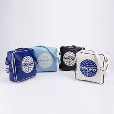 The Pan Am Innovator introduced us to the 60's and the jet age. Pan Am passengers from all over could be seen hitting the ground running with this bag thrown over their shoulders. From the Beatles to