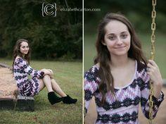 senior session - eastern nc senior photographer - elizabeth cayton photography