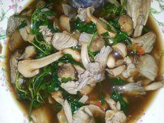 Wild mushroom soup. Laos style.