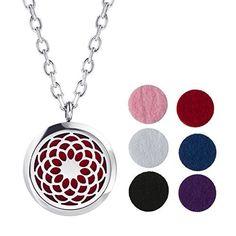 Oil Diffuser Pendants. Aromatherapy jewellery from Ooh La Lava.