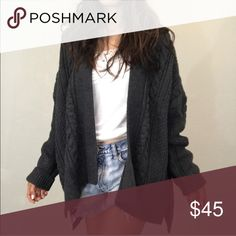 """Brand new oversized sweater cardigan Brand new size L length 33"""" bust open- size XL all SOLD Price firm no offer no freeship Sweaters Cardigans"""