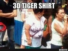 Humor on Share Sunday Top Funny, Funny Cute, Funny Shirts, Funny Jokes, Hilarious Quotes, Tiger Shirt, Try Not To Laugh, 3d Max, Adult Humor