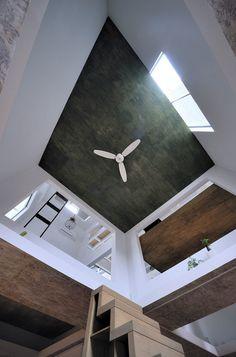 House T, woonkamer, Hiroyuki Shinozaki Architects, multilevel wonen - 'Multilevel' wonen - Wonen voor Mannen