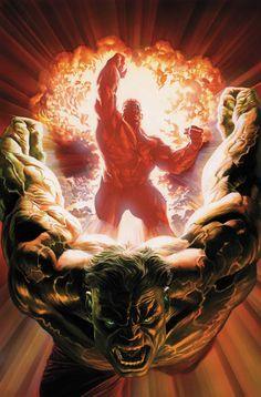 Hulk #600, by Alex Ross.