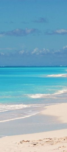 Turks and Caicos - the softest sand and the most beautiful shade of turquoise water in the world. #SurePayrollMom