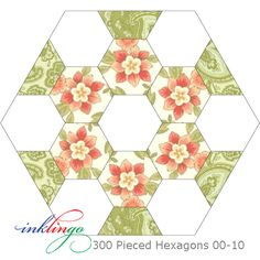 A hexagon a day keeps the blues away. of 300 Pieced Hexagons with Marcus… Hexagon Patchwork, Hexagon Pattern, Hexagon Quilt, Patchwork Patterns, Quilt Patterns, Quilting Projects, Quilting Designs, Quilting Tips, Millefiori Quilts
