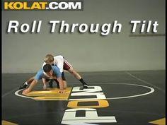 Roll Through Tilt KOLAT.COM Wrestling Techniques Moves Instruction