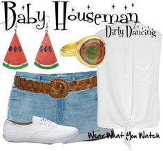 Inspired by Jennifer Grey as Frances Baby Houseman in Dirty Dancing.