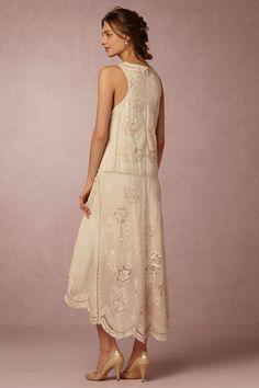 Nude Cora Dress | BHLDN Bride Reception Dresses, Wedding Day Dresses, Mother Of Bride Outfits, Mothers Dresses, Gala Dresses, Dressy Dresses, Bohemian Style Dresses, Vintage Wardrobe, Special Dresses