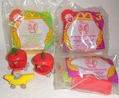 1995 McDonald's The Busy World Of Richard Scarry Toys #RichardScarry