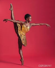 Michaela DePrince is a Sierra Leonean-American ballet dancer. She formerly danced with the Dance Theater of Harlem and currently dances for the Dutch National Ballet. Black Dancers, Ballet Dancers, Afro, Misty Copeland, Black Women Art, Beautiful Black Women, Black Girls, Foto Picture, Black Ballerina