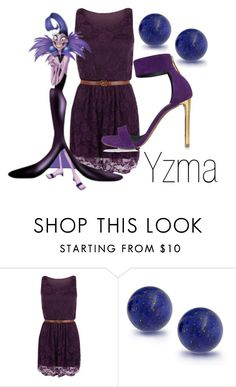 """Yzma~ DisneyBound"" by basic-disney ❤ liked on Polyvore featuring WearAll, Bling Jewelry and Roberto Cavalli"