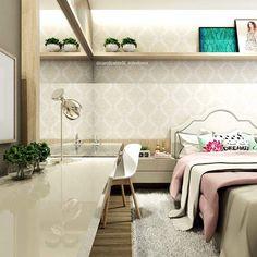 Esse Lorão arrasa @carolcantelli_interiores do @decoremais 😍😍😍 ARCHITECTURE   INTERIORS   BEDROOM
