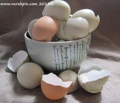 How to sterilize egg shells before using. Eggshells can be ground in a blender and used for many purposes, indoors and out.