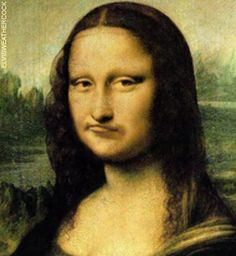 Who painted the Mona Lisa?Fosterginger.Pinterest.ComMore Pins Like This One At FOSTERGINGER @ PINTEREST No Pin Limitsでこのようなピンがいっぱいになるピンの限界