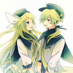 Grown up Rin and Len Kagamine Vocaloid Len, Kagamine Rin And Len, Anime Siblings, Cute Anime Couples, Anime Pixel Art, Anime Art, Moe Anime, Anime Angel, Manga Characters