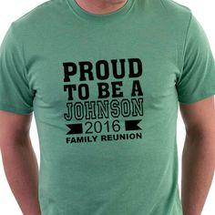 Camisetas para reunión familiar. / samarretes per a una reunió familiar