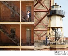 Fort Point in San Francisco is such a great location for an engagement session!  #engagementphotography #photography #drozianphotoworks