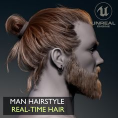 Video Game Development, 3d Tutorial, Hair Game, How To Draw Hair, Zbrush, Textured Hair, Art Tutorials, Sculpting, Hairstyle