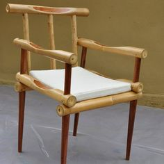 Furniture Bamboo Redwood Chair