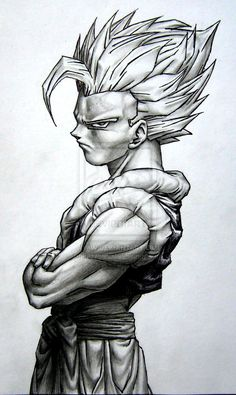 gogeta by TicoDrawing.deviantart.com on @DeviantArt