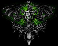dragon skull by nightrhino.deviantart.com on @deviantART