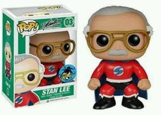 FUNKO POP SUPERHERO STAN LEE COMIKAZE EXPO 2015 EXCLUSIVE ( MARVEL ) in Collectibles, Pinbacks, Bobbles, Lunchboxes, Bobbleheads, Nodders | eBay