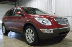 RED ENCLAVE? YES PLEASE  2012 Buick Enclave Vehicle Photo in Battle Creek, MI 49015