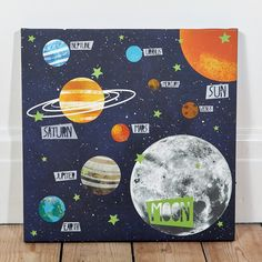 Universe Light Up Canvas