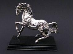 Allessando MAGRINO Sterling silver FIGUR Silber Pferd HORSE Stallion figurine