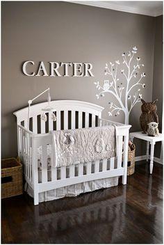 charming baby boy room decor idea