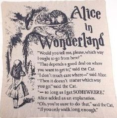 Alice in Wonderland Large Throw - Made from Pre-Consumer Products - Whimsical & Unique Gift Ideas for the Coolest Gift Givers