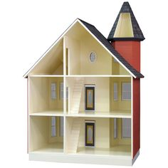 this is at Hobby lobby for 229.99 use a 40% coupong Real Good Toys Painted Lady Dollhouse Kit - 1 Inch Scale - Collector Dollhouse Kits at Hayneedle