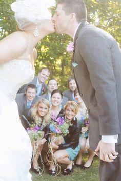 Fun bridal party shot we did