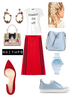 """""""Untitled #41"""" by petrasvetlanamelinte on Polyvore featuring Pierre Hardy, Gucci, Dorothy Perkins, ALDO, Armani Jeans, Shoes of Prey, Lacoste and Les Néréides"""