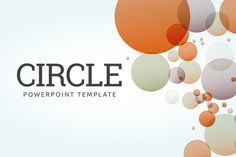 Circle- PowerPoint Template by everslide on @creativemarket