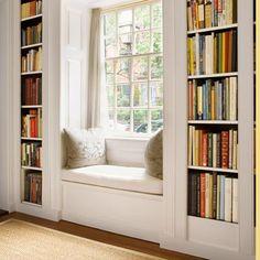 8. Snug Window Seat Reading Nook