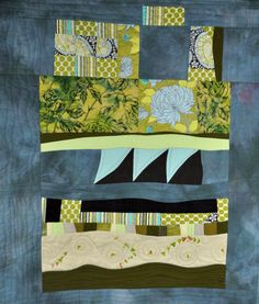 Untitled by Martha Betts and Gail Strout.  Quilting Daily.
