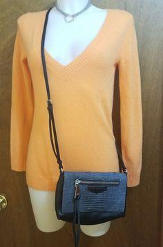 Aimee Kestenberg crossbody handbag Positano black gray reptile leather clutch | Clothing, Shoes & Accessories, Women's Handbags & Bags, Handbags & Purses | eBay! SOLD